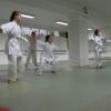 Barn utøver aikido