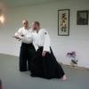 Thorsten Schoo demonstrerer aikidoteknikk